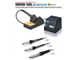 Soldering Station - Lead Free Compatible Soldering Iron/Large Capacity Heater Imbedded [UNICON-108]